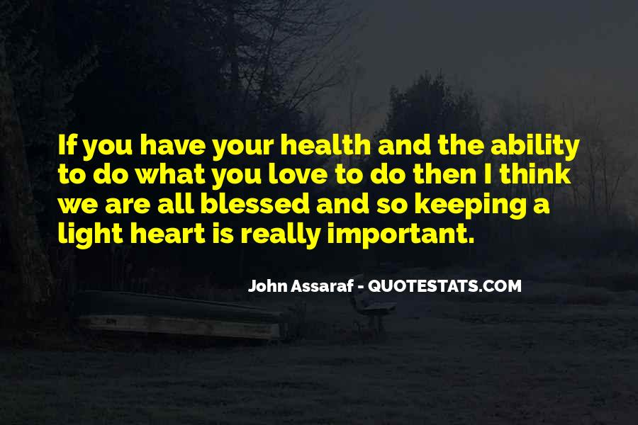 Quotes About The Heart Health #1150028