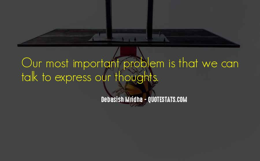 Quotes About Being Important To Others #4082