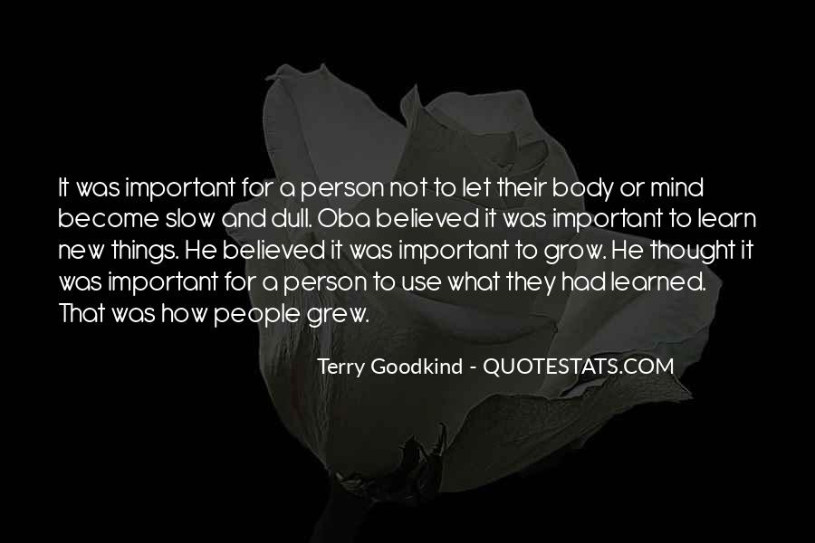 Quotes About Being Important To Others #7639