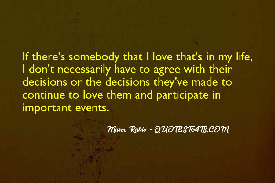Quotes About Being Important To Others #8394