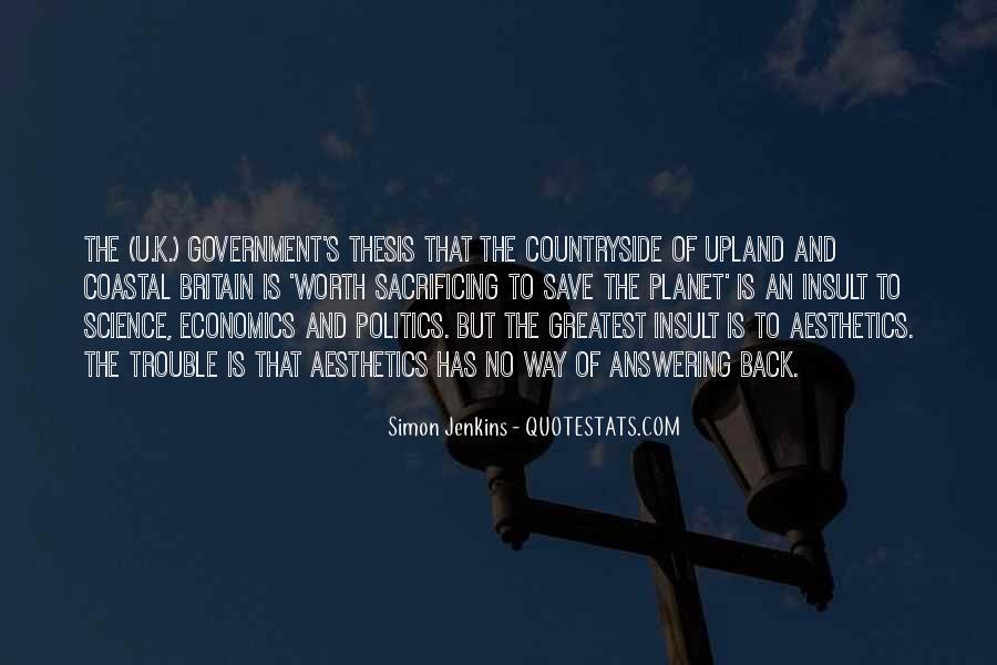 Quotes About Economics And Politics #1390837
