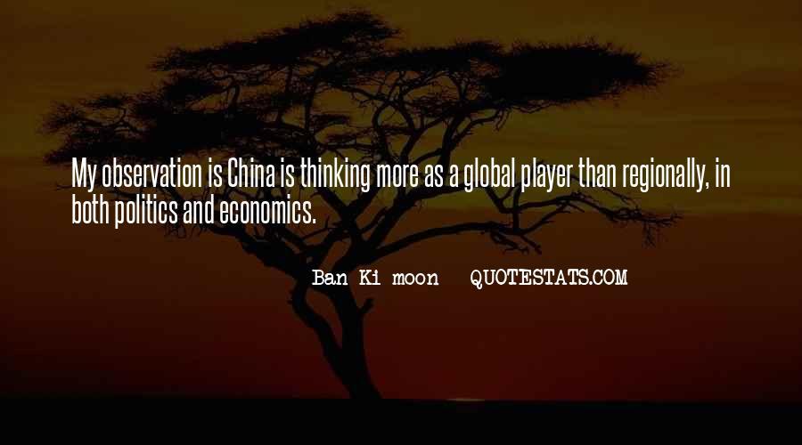 Quotes About Economics And Politics #1525253