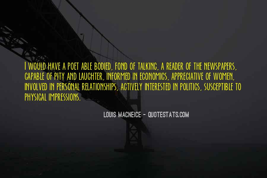 Quotes About Economics And Politics #1838310