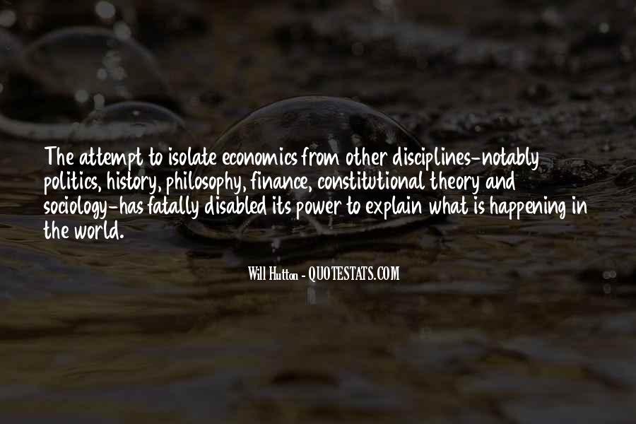 Quotes About Economics And Politics #274083