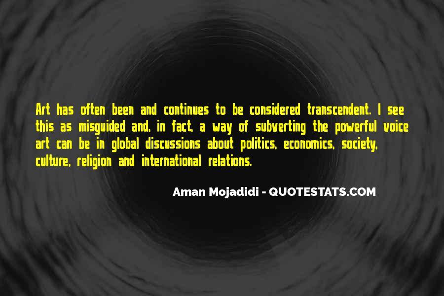 Quotes About Economics And Politics #277248