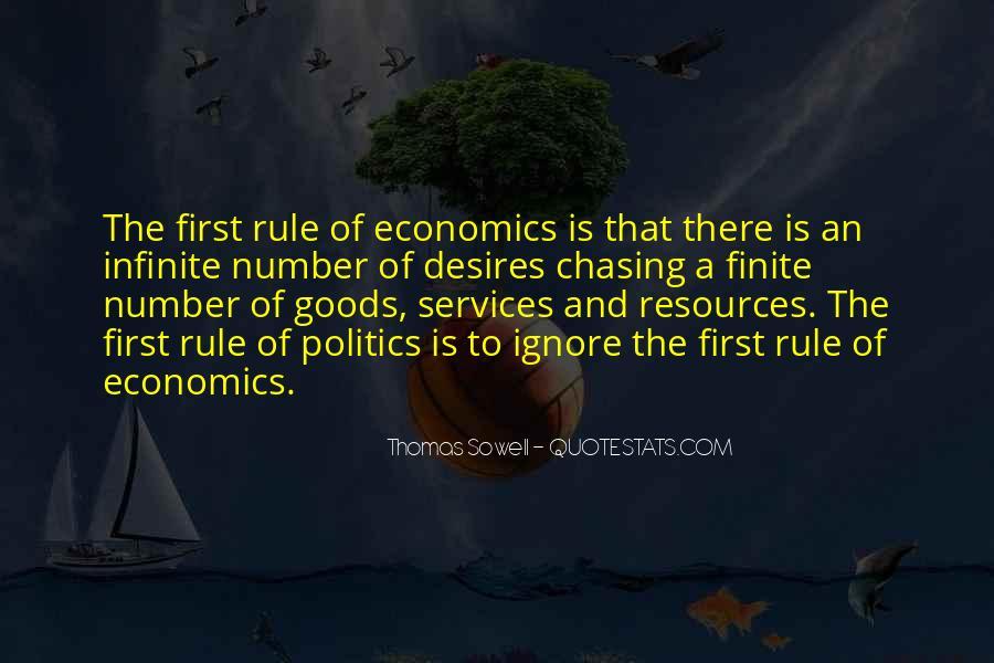 Quotes About Economics And Politics #515542