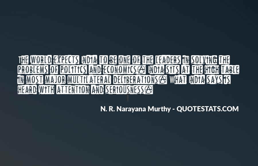 Quotes About Economics And Politics #733267