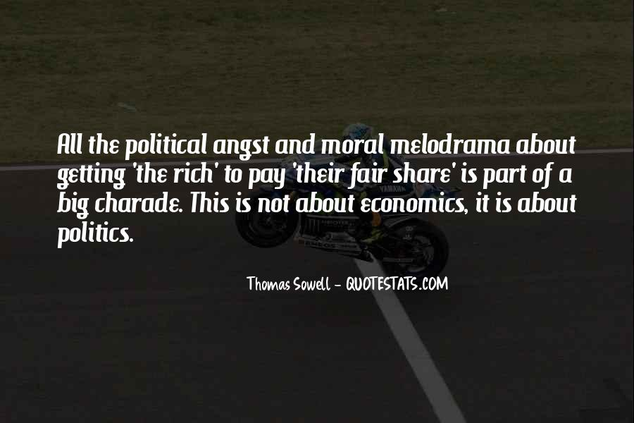 Quotes About Economics And Politics #779367
