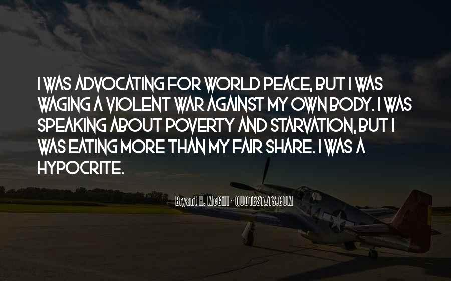 Quotes About War Against War #100002