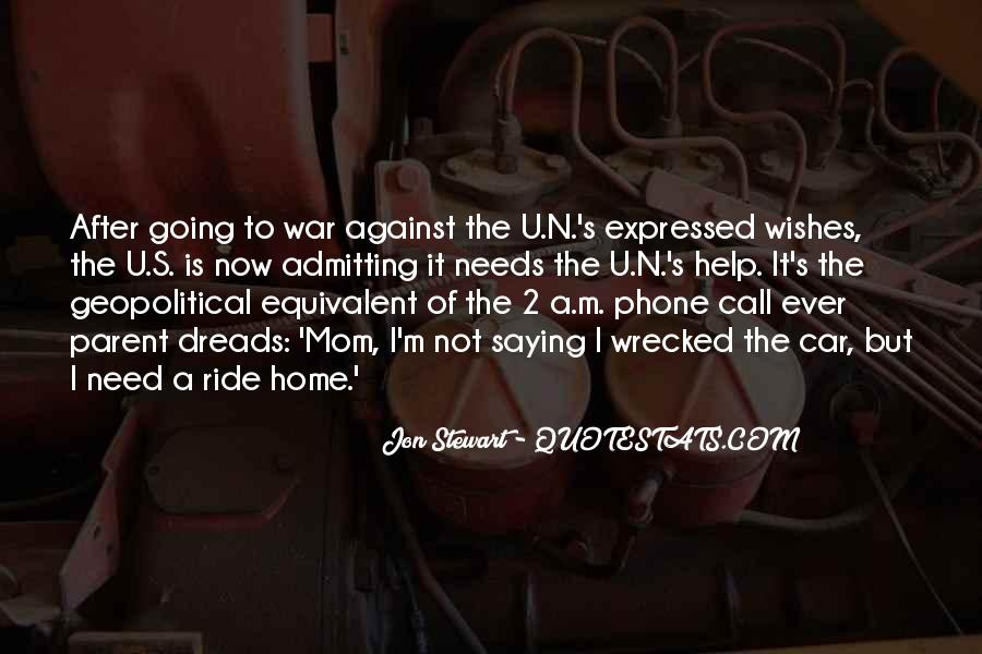 Quotes About War Against War #102824