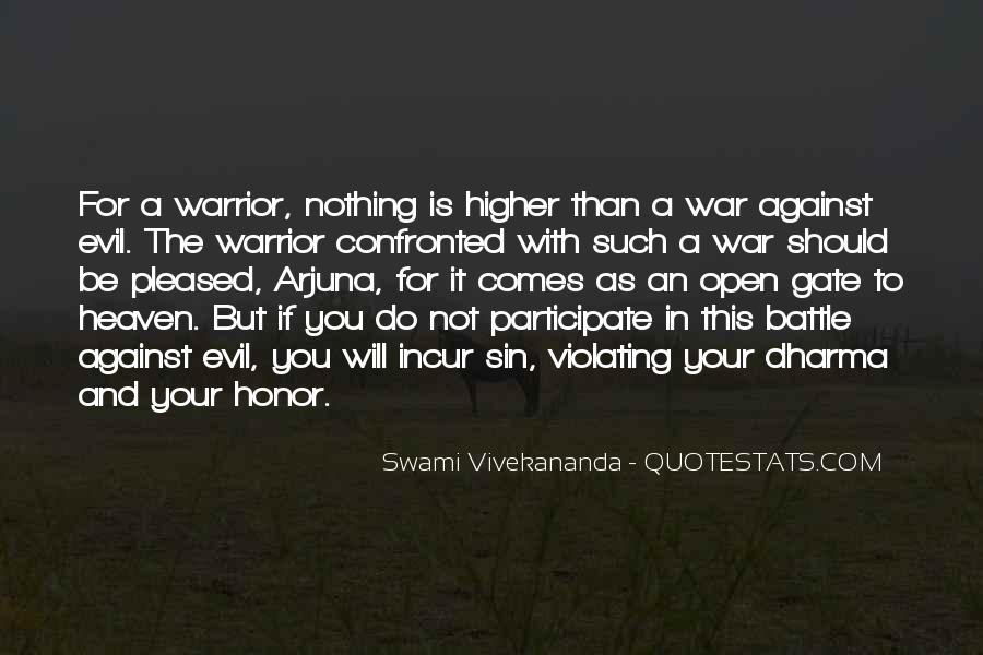 Quotes About War Against War #116210