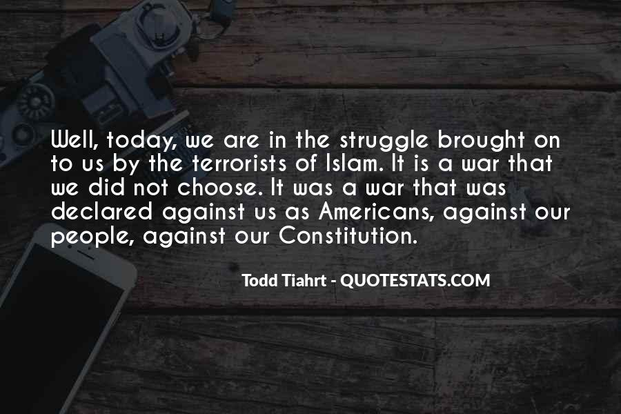 Quotes About War Against War #145058