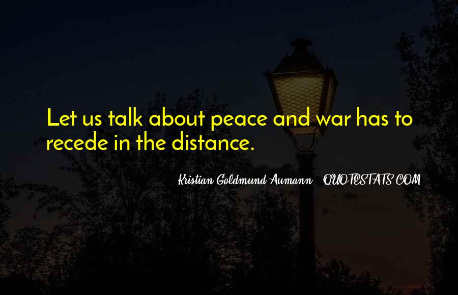 Quotes About War Against War #195221