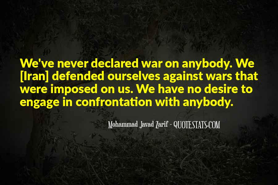 Quotes About War Against War #196079