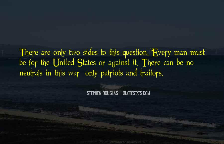 Quotes About War Against War #74099