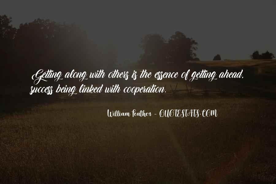 Quotes About Cooperation And Success #1233535