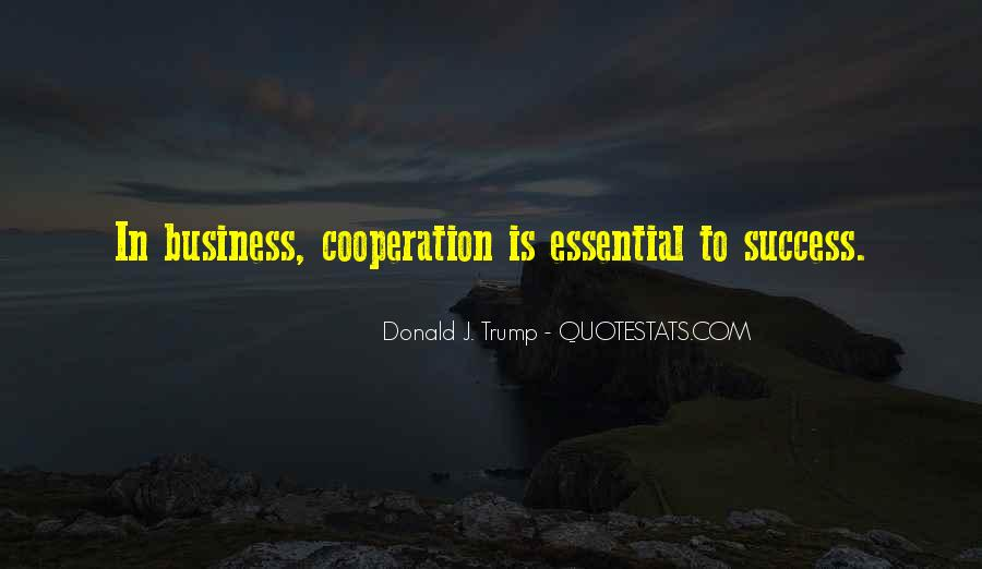 Quotes About Cooperation And Success #404988