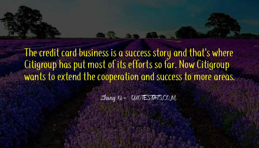 Quotes About Cooperation And Success #987148