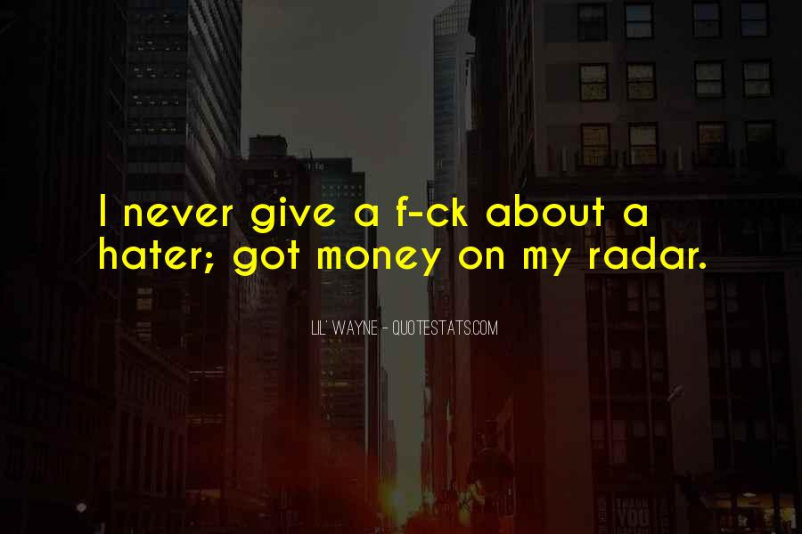 Quotes About My Money #43980
