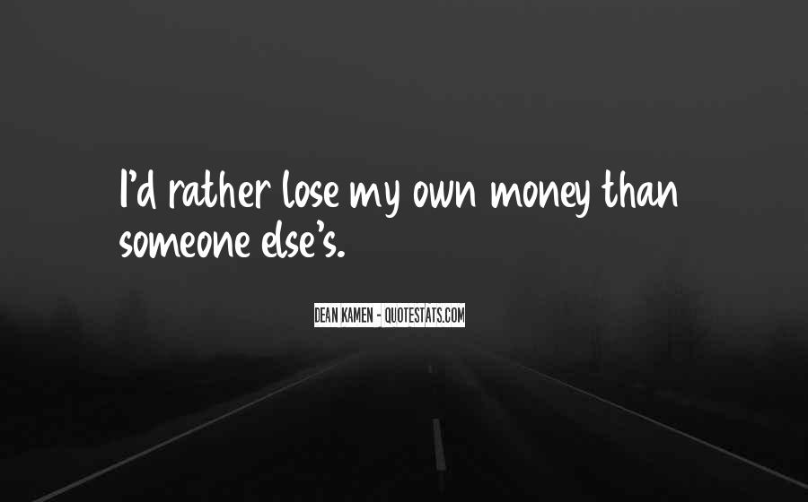 Quotes About My Money #52419