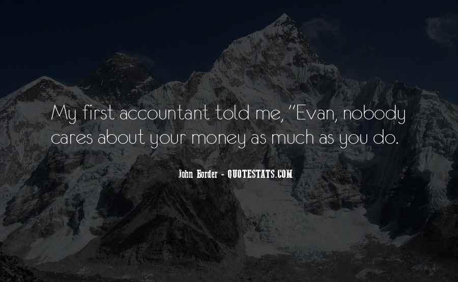 Quotes About My Money #7695