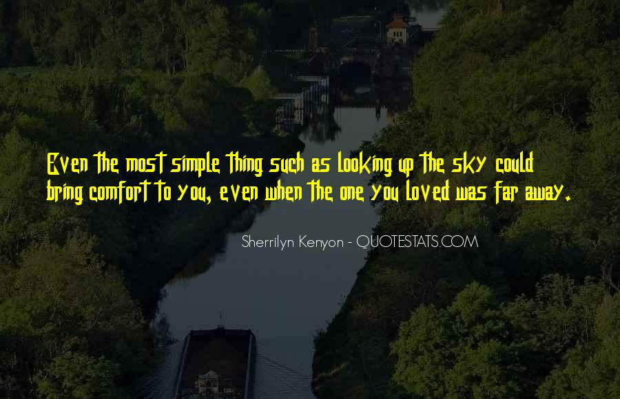 Quotes About Looking Up To The Sky #900929