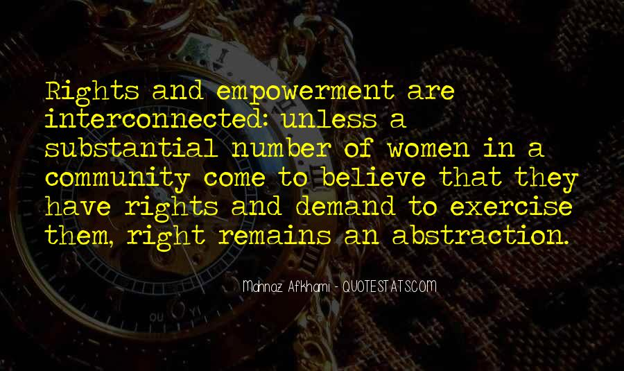 Quotes About Women's Empowerment #552986