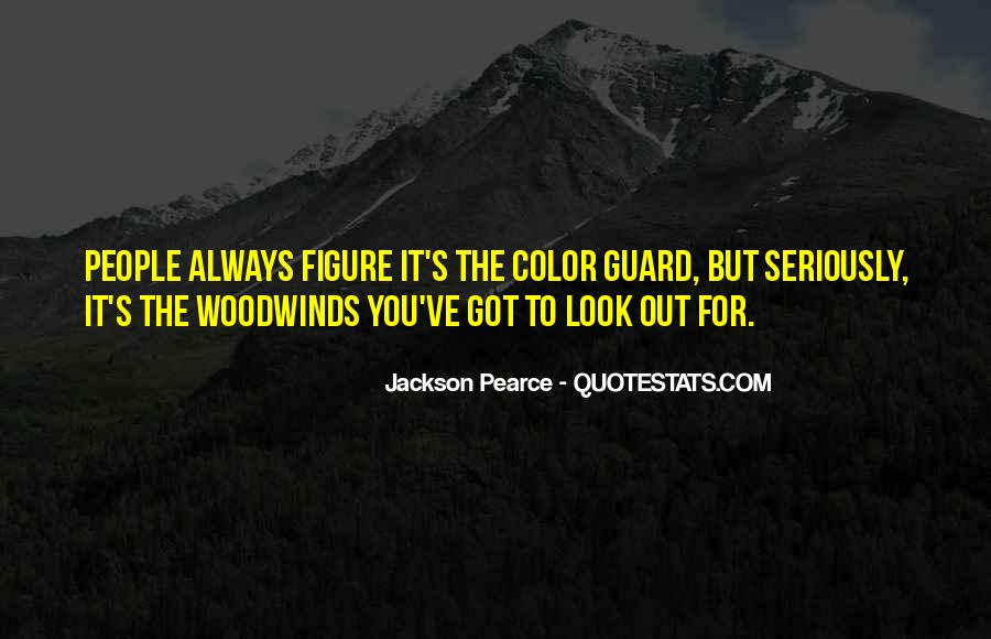 Quotes About Color Guard #827637