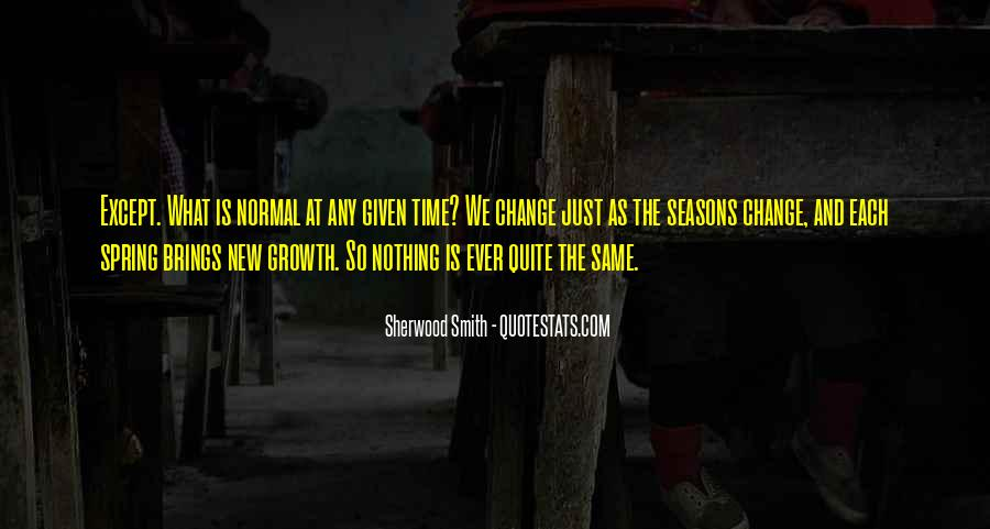 Quotes About Spring Time Change #1671299