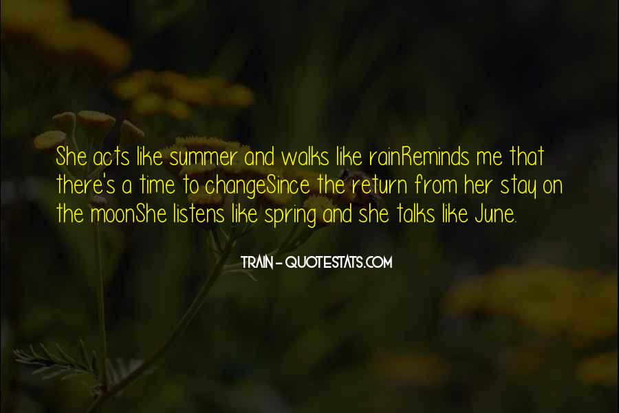 Quotes About Spring Time Change #1807487
