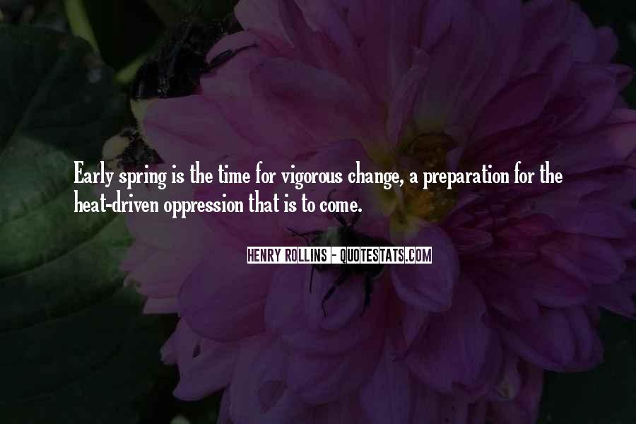 Quotes About Spring Time Change #658586