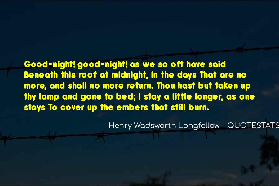 Quotes About Have A Good Night #1226961