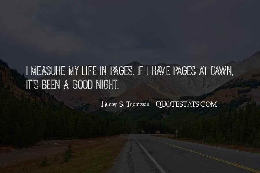 Quotes About Have A Good Night #1770304