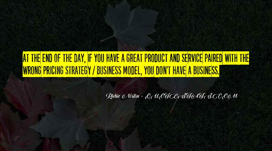 Quotes About Pricing Strategy #401465