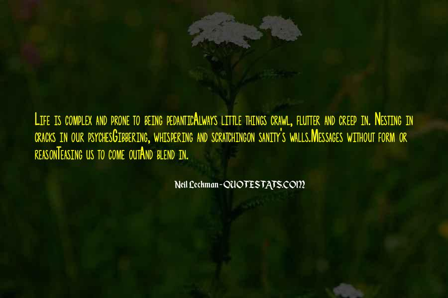 Quotes About Sanity Life #1048574