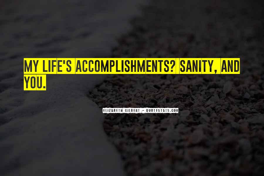 Quotes About Sanity Life #1113350