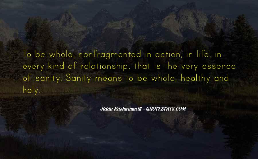Quotes About Sanity Life #1378256