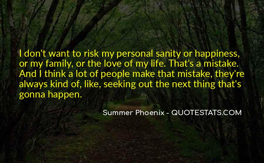 Quotes About Sanity Life #152438