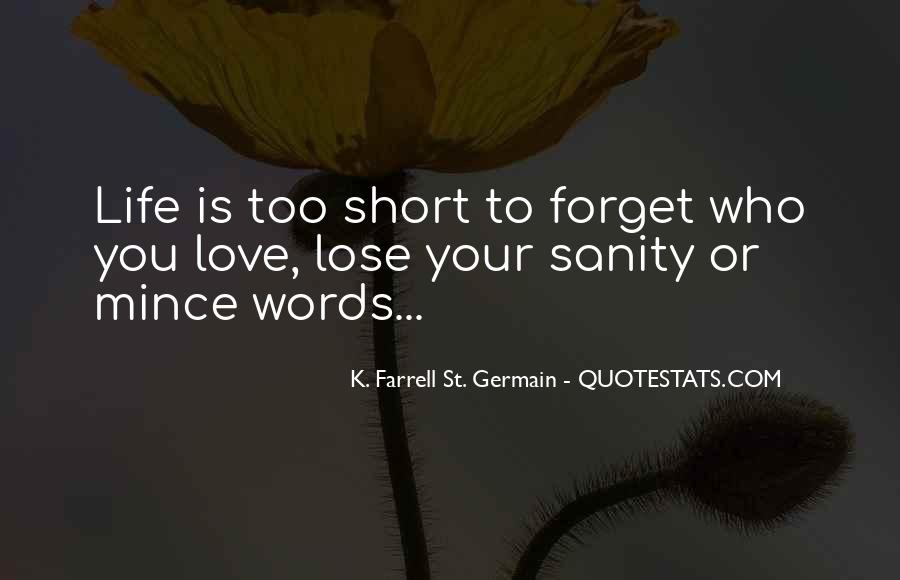 Quotes About Sanity Life #1685587