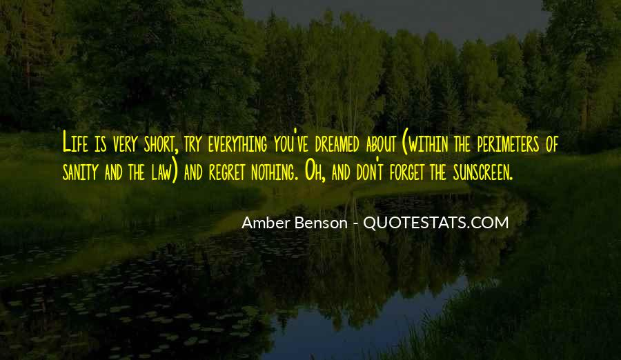Quotes About Sanity Life #1848688