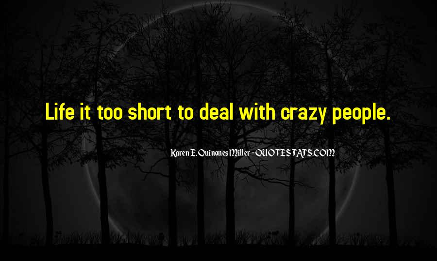 Quotes About Sanity Life #245822