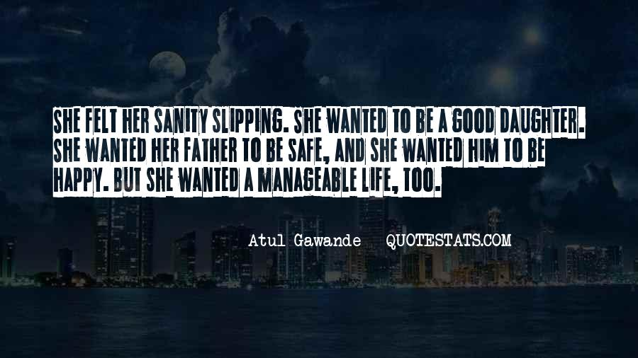 Quotes About Sanity Life #581483
