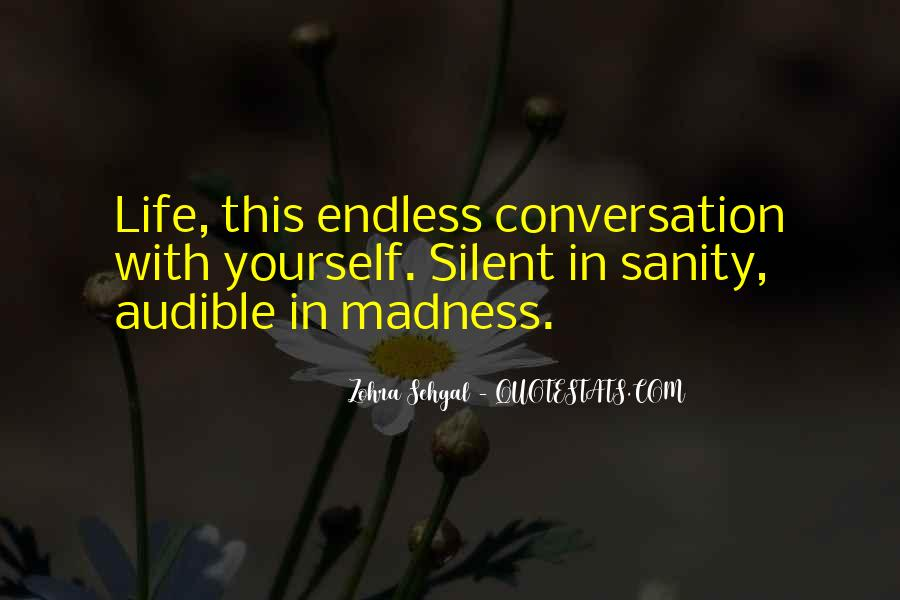 Quotes About Sanity Life #611738