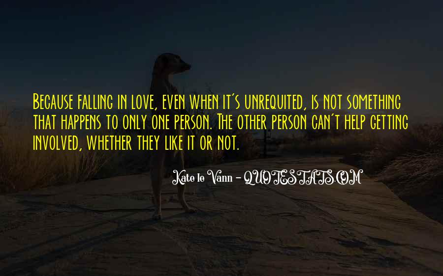 Quotes About Not Getting Love #1058663