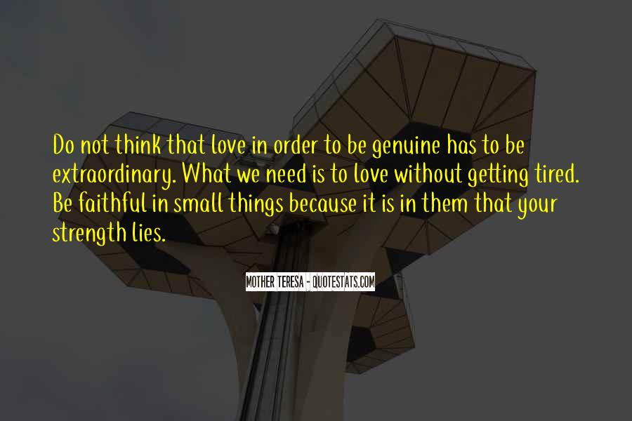 Quotes About Not Getting Love #1128375