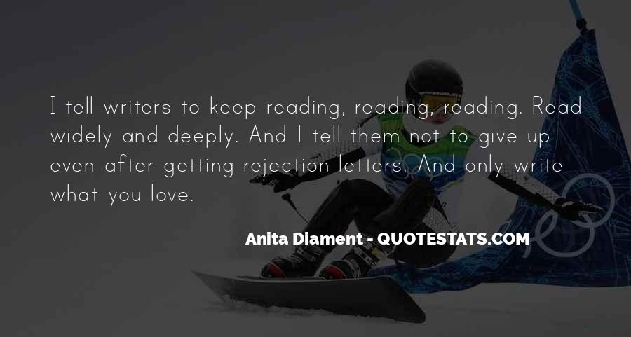 Quotes About Not Getting Love #36094