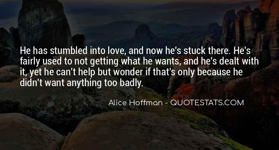 Quotes About Not Getting Love #398140
