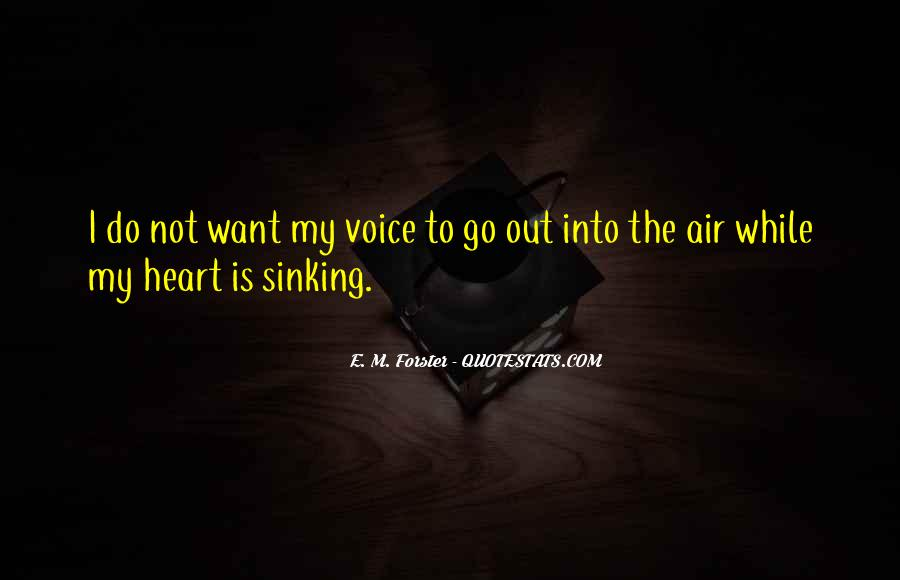 Quotes About Your Heart Sinking #410584