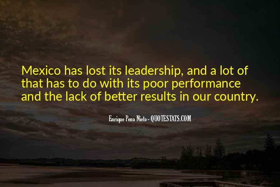 Quotes About Poor Leadership #1424511