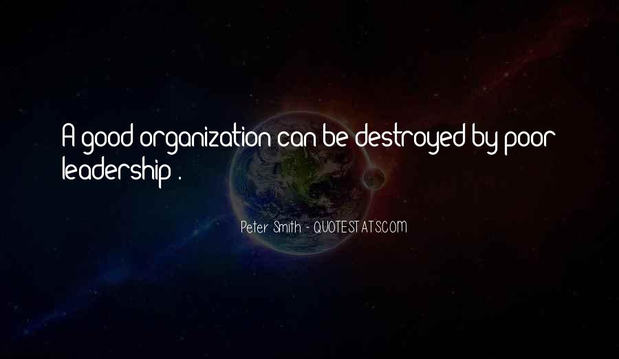 Quotes About Poor Leadership #1770084